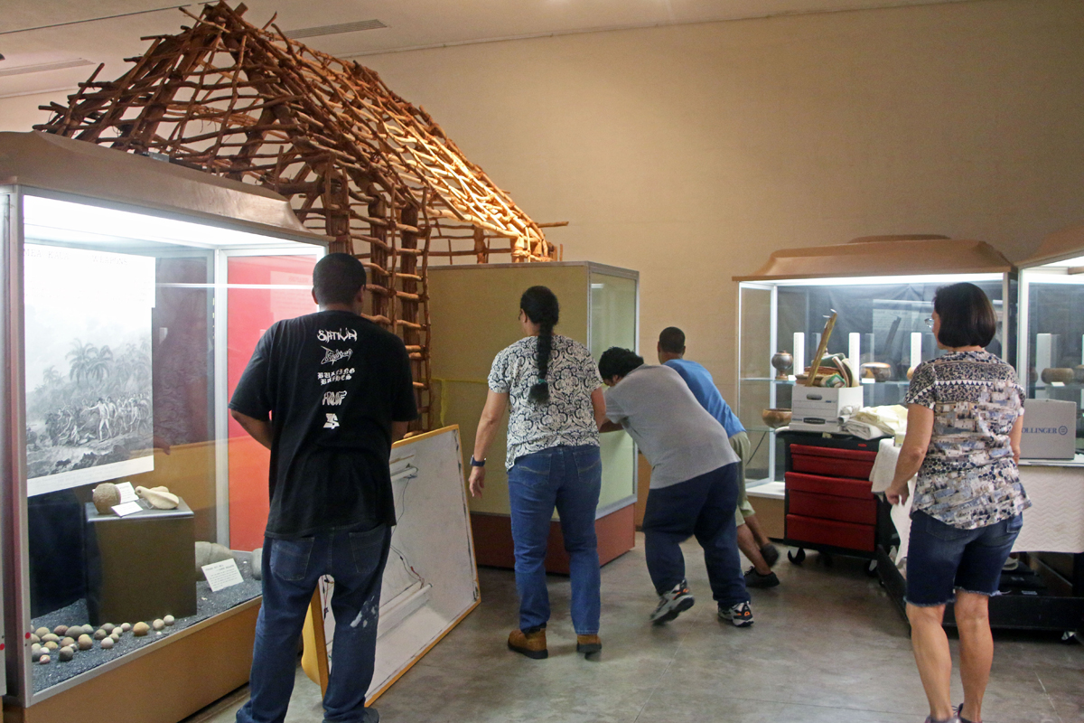 Removing artifacts from the Gallery.