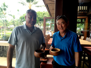 Jay Ignacio and Alan Ikawa were the winners of the coveted Whitey Rose Perpetual Trophy.