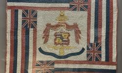 Hawaiian Flag Quilt 1900
