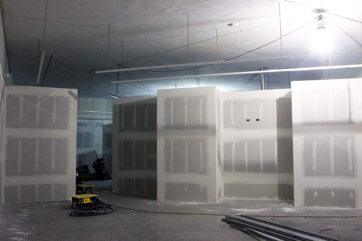 Time for drywall.