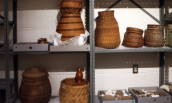Storing artifacts from the Gallery.
