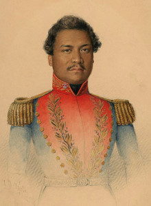 Kamehameha III military_uniform
