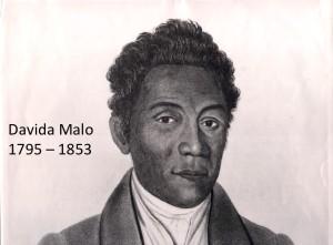 David Malo portrait